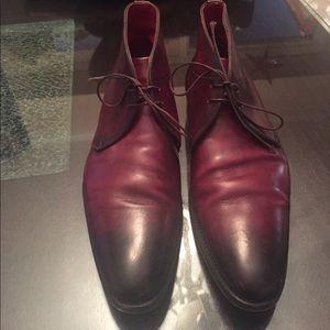 Santoni Other - Santoni Leather Ankle Boots