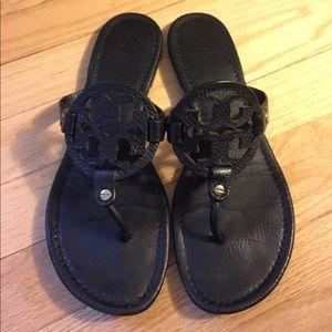 Tory Burch Miller Sandals in Black