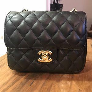 chanel Handbags - Chanel leather mini flap bag