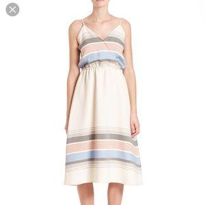 SUNO Dresses & Skirts - Suno Striped Midi Dress