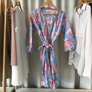 The Paisley Box Other - Floral Bridal Robe