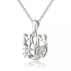 Other - It's almost Mother's Day! #1 MOM 925SS diamond nck