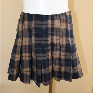 "Dresses & Skirts - Plaid ""school girl"" skirt"