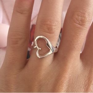 Tiffany & Co. Jewelry - Open heart adjustable ring