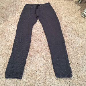 Monrow Pants - Monrow Knit Sweatpant