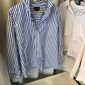 J. Crew Tops - J.Crew Striped Shirt
