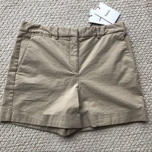 Theory Pants - Theory- Wehnday Chino Shorts Khaki