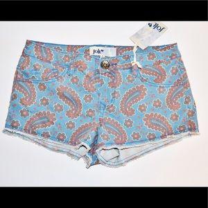 Jolt Pants - NWT Jolt Paisley Shorts