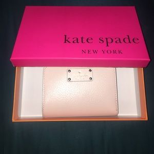 Kate Spade wellesley balletslip wallet