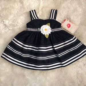 Sweet Heart Rose Other - NWT navy 12month size sundress