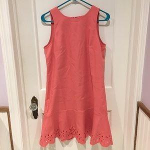 Pink LOFT shift dress
