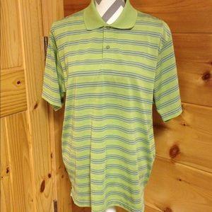 Izod Other - Izod extreme function golf shirt large green