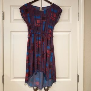Cute boutique printed dress, size S