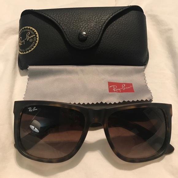 df5782c928c Ray Ban Justin Classic Sunglasses -tortoise. M 58fe93f5713fdecac4004cae