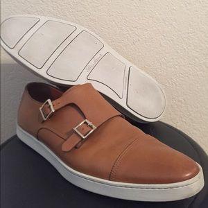 Santoni Other - Santoni double monk strap sneakers m11