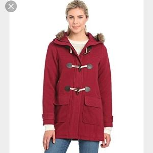 Animal Jackets & Blazers - LOW PRICE!!!! Maroon duffle coat 💕🌷