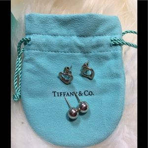 Tiffany & Co. Jewelry - Authentic Tiffany and Co. earrings bundle
