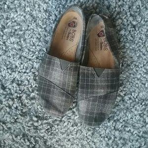bobs Shoes - Plaid Bob's by Skechers