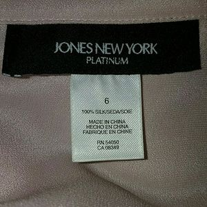 Jones New York Tops - SALE!! HP!!!! *Gorgeous 100% Silk Jacket Set*