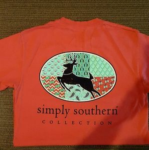Simply Southern Tops - Simply Southern Short Sleeve Top