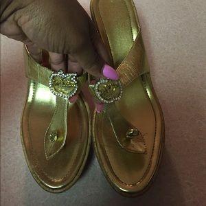 Apple Bottoms Shoes - Apple bottom wedges