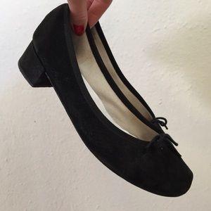 Repetto Shoes - Repetto Camille black suede Ballet Pump sz 40