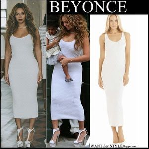 Torn by Ronny Kobo Dresses & Skirts - White torn dress as seen on Beyoncé