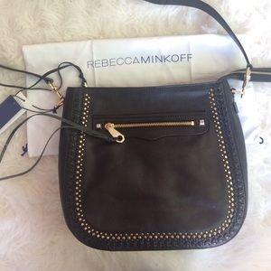 Rebecca Minkoff Handbags - NWT Rebecca Minkoff Studded Regan Feed Bag