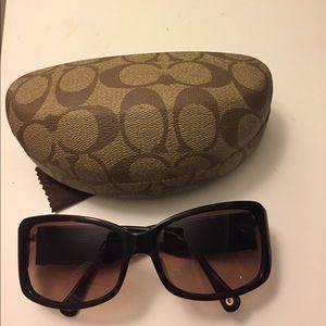 Coach sunglasses Jenni tortoise frames