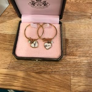 Juicy Couture Hoop Earrings