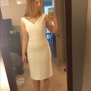 Must go! Alice and Olivia never worn white dress
