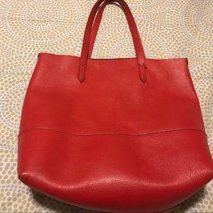 J. Crew Handbags - J Crew Leather Tote Bag
