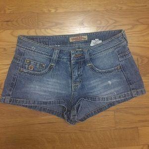 Paris Blues Pants - Paris blues denim shorts