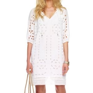 Michael Kors Dresses & Skirts - Michael Kors Eyelet Peasant Dress