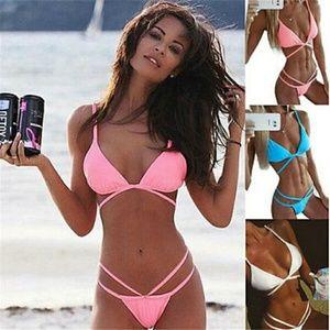 Other - PINK Thin Sexy Womens Brazilian Bikini Swimsuit