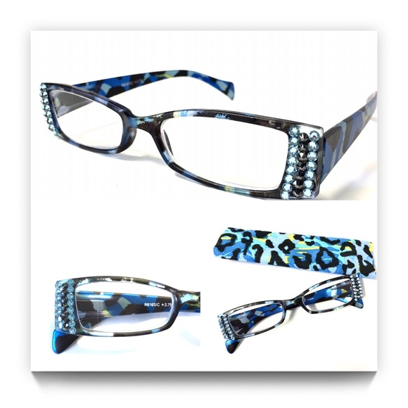 708e676c505 Reading Glasses made with Swarovski Crystals +3.00