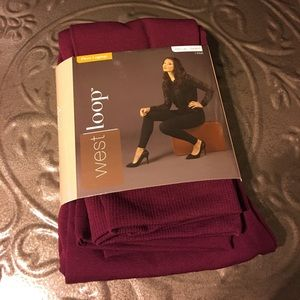 Pants - Cranberry Fleece Leggings