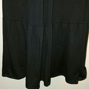 Wet Seal Dresses - HP!!! *Black Racerback Maxi w/Lace*