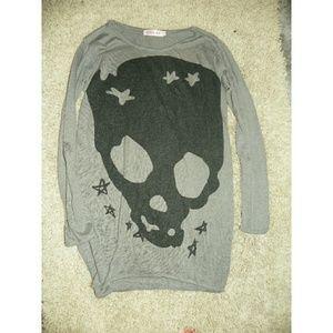 Allegra K Dresses & Skirts - Comfy Skull Shirt Dress