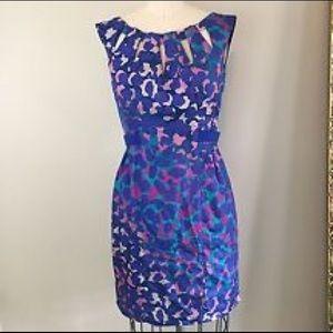 Nanette Lepore Dresses & Skirts - Nanette Lepore SILK Capture Me Dress in Blue EUC