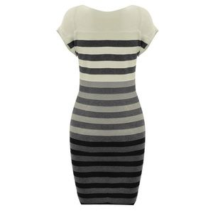 Dresses & Skirts - Striped Short Casual dress One Size
