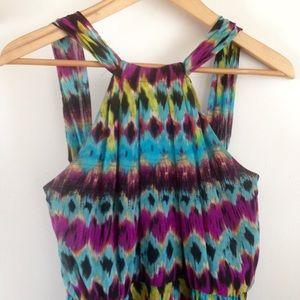 Miss Sixty Dresses & Skirts - Miss Sixty vibrant tribal print maxi dress