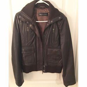 Jackets & Blazers - Women's Reilly Olmes genuine leather jacket