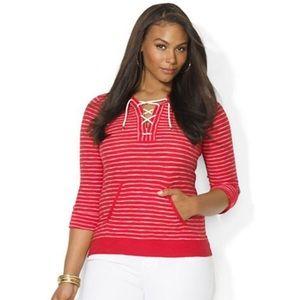 Lauren Ralph Lauren Tops - Ralph Lauren cotton hoodie shirt