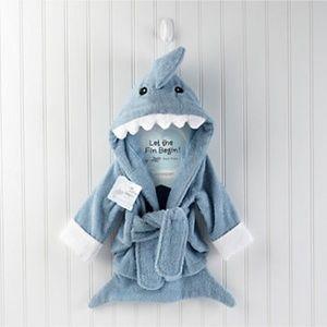 Baby Aspen Other - Baby Aspen Shark Robe! 0-9 Months💞