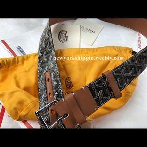 Goyard Other - Official men's brown Goyard belt