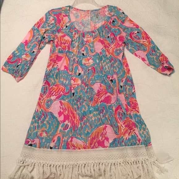3c98d271bfacf Lilly Pulitzer Dresses   Skirts - Lilly Pulitzer Alia Beach Cover Up Peel  and Eat