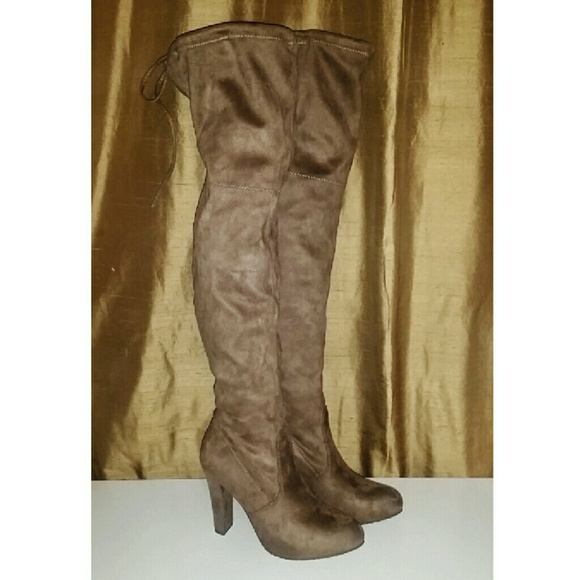 Nude Colored Boots 7