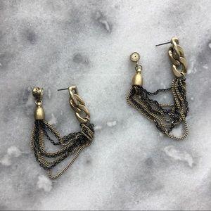 Kenneth Cole Jewelry - Kenneth Cole Multi-Chain Loop Earrings