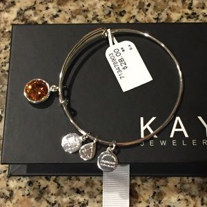 Alex & Ani Jewelry - NWT Alex snd Ani November birthstone bracelet